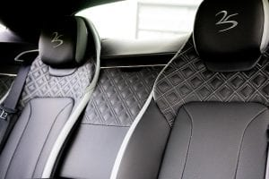 Bentley Manchester 25 year limited edition car interior