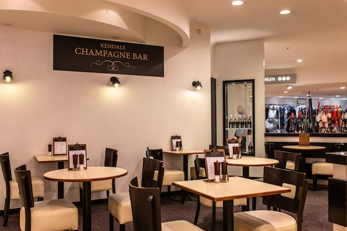 Kendals Manchester relaunches champagne bar with new look and new menu I Love Manchester