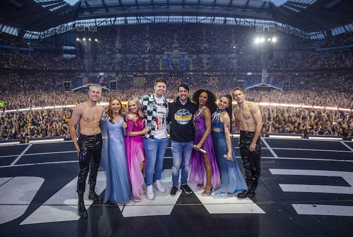This couple got ENGAGED on stage with the Spice Girls in Manchester I Love Manchester