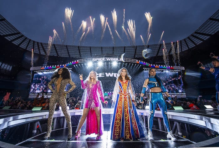 Review:  Spice Girls reign in the rain at Manchester's Etihad Stadium I Love Manchester