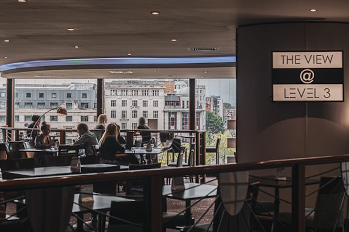 Enjoy affordable fine dining with incredible views of the city at Mercure Manchester Piccadilly I Love Manchester