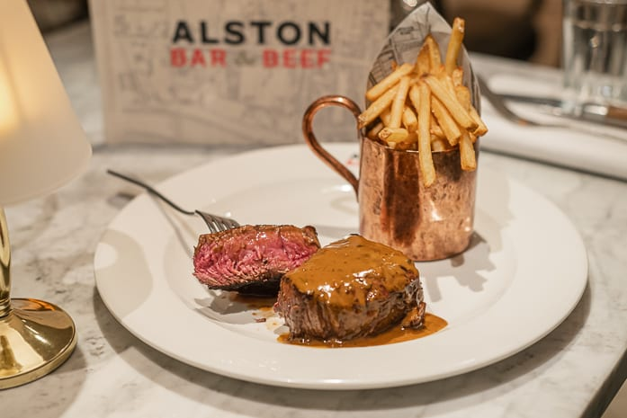 Alston Bar & Beef launches new menu - where a steak and a starter is just £15 I Love Manchester