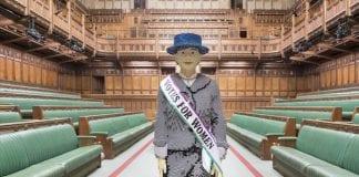 suffragette statue