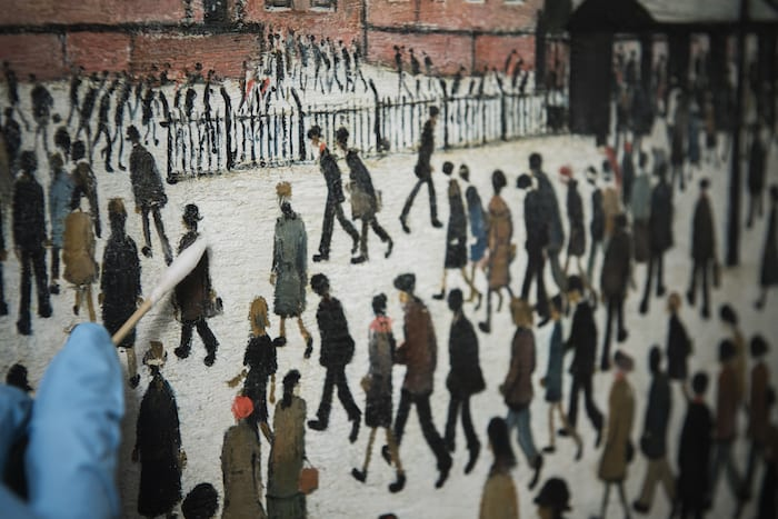Iconic Lowry painting comes home to Imperial War Museum North I Love Manchester