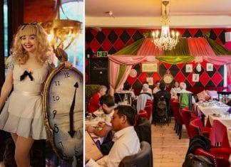 Richmond Tearooms Alice in Wonderland