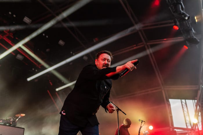 Guy Garvey elbow Castlefield