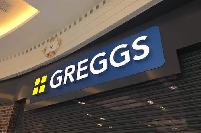 Greggs trafford centre