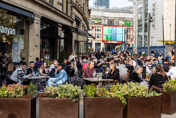 Manchester is in the grip of a heatwave - and it's about to get hotter I Love Manchester