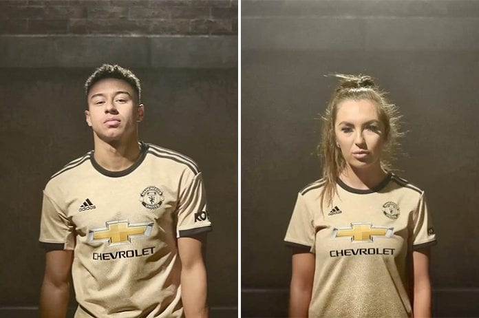 official photos 2ff6c afa77 Man United reveal new second kit inspired by Northern ...