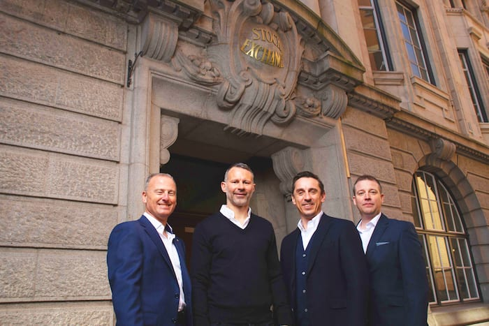 Sneak preview of Neville and Giggs' new Stock Exchange Hotel opening in Manchester this winter I Love Manchester