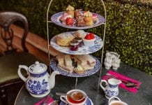 Richmond Tea Rooms afternoon tea