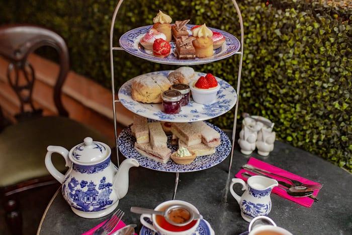 Richmond Tea Rooms afternoon tea