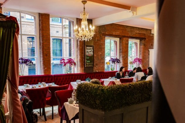 Manchester's Alice in Wonderland themed tearooms has just DOUBLED in size - take a look I Love Manchester