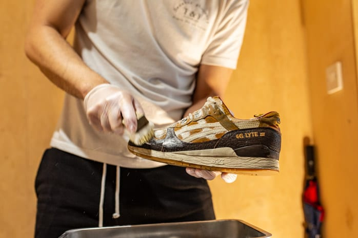 trainer cleaning