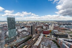 Views of Manchester from West Tower