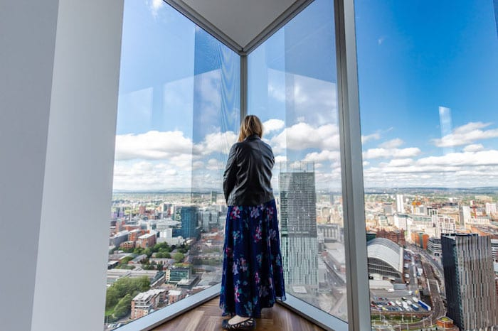 See amazing views of Manchester from the new penthouses you can rent 44 floors above the city I Love Manchester