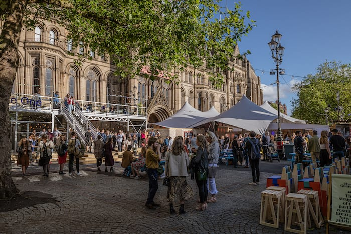 MIF Festival Square preview: food and drink, live music and all the buzz on Albert Square I Love Manchester