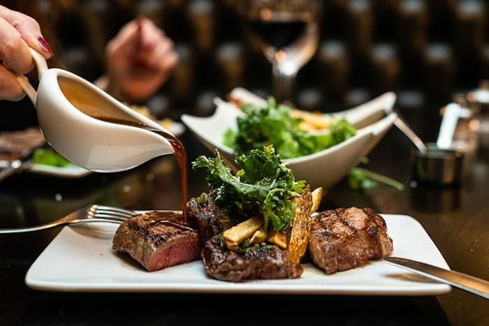 Unlimited steak, chips and wine at Gaucho - this is what Sundays were made for I Love Manchester