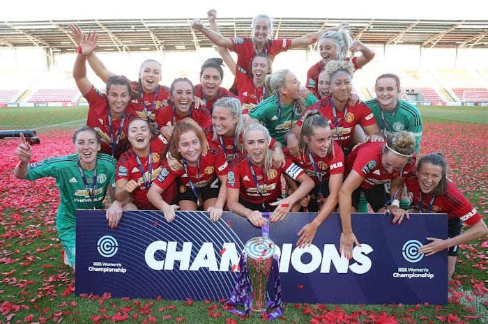 Manchester women's derby set to smash gate records I Love Manchester