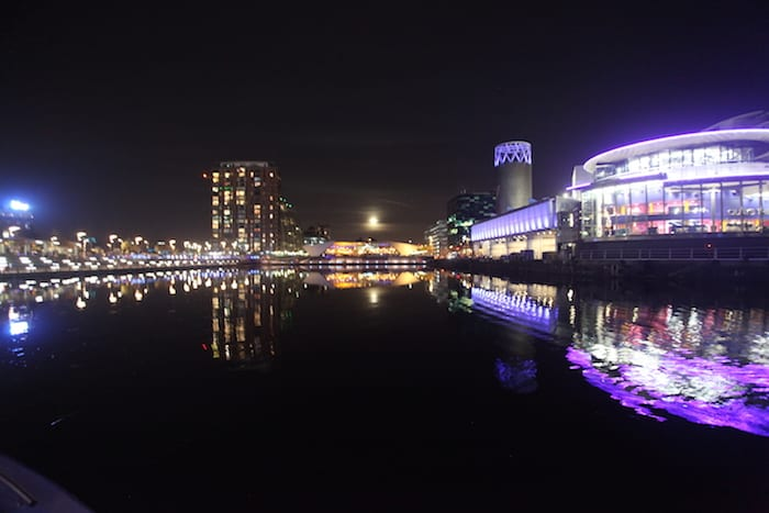 Enjoy the glorious weather and stunning views on a Manchester river cruise I Love Manchester