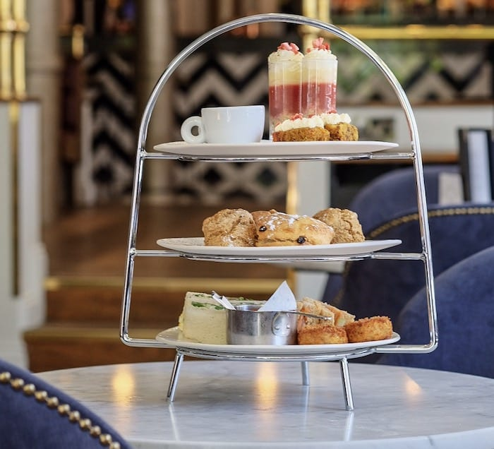 Brasserie Abode afternoon tea