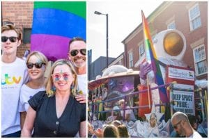 Corrie at Manchester Pride