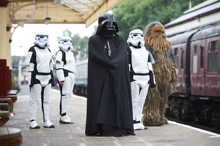 Star Wars stormtroopers spotted on East Lancs Railway I Love Manchester