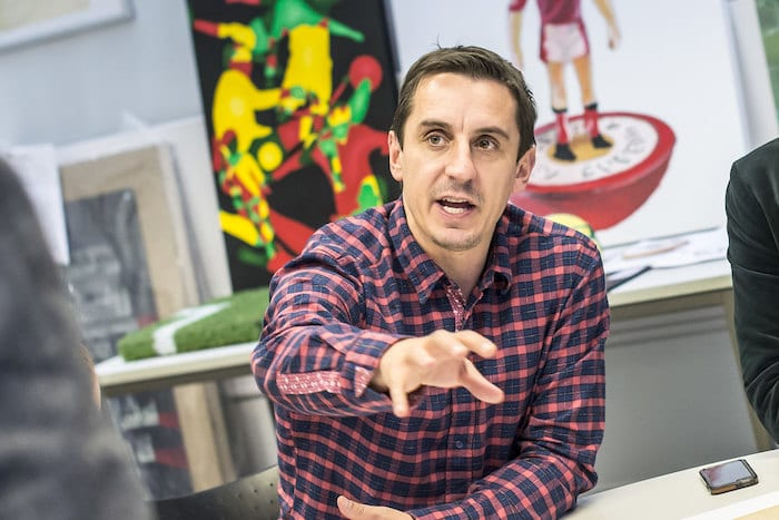 Gary Neville and Class of 92 have set up a university – and there's an Open Day this week