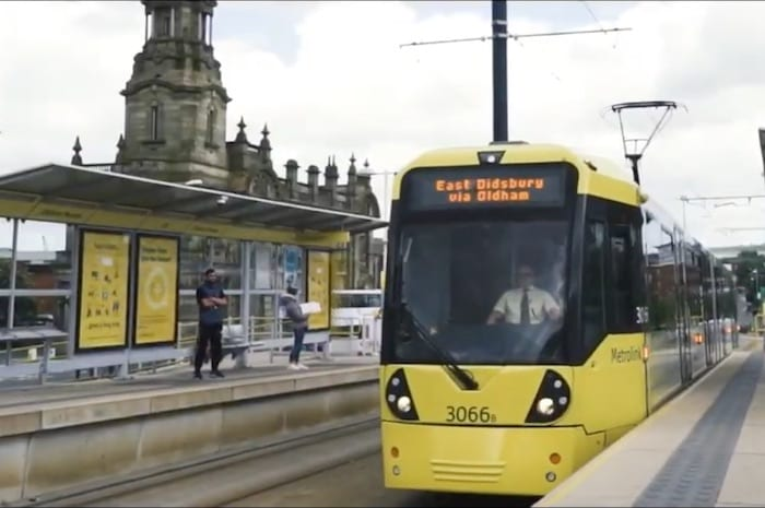 This dancehall group love Manchester's Metrolink so much they wrote a song about it I Love Manchester