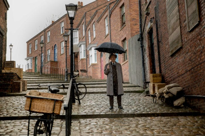 Timothy Spall on playing Lowry, filming in Stockport, and why his own paintings are on display in Salford I Love Manchester