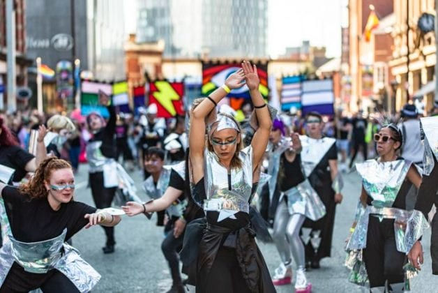 Manchester Pride Parade in pictures as the city celebrates in glorious sunshine I Love Manchester