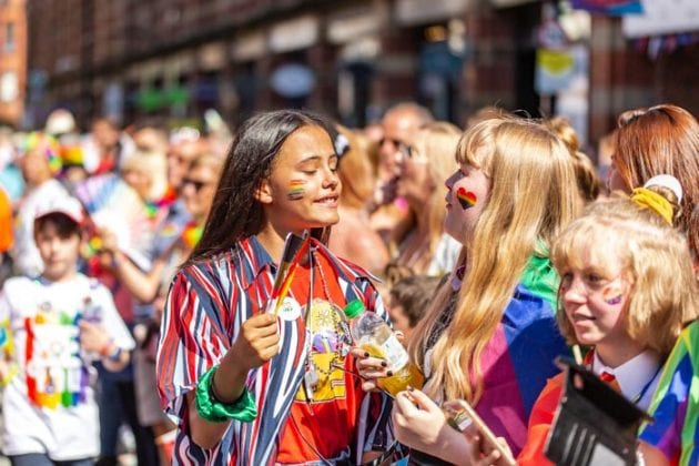 All the best pictures from the biggest and hottest Pride weekend ever I Love Manchester