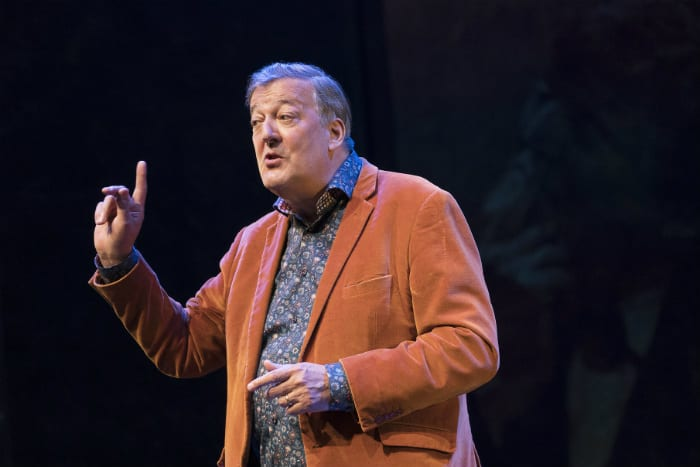Review: Mythos trilogy by Stephen Fry at The Lowry I Love Manchester