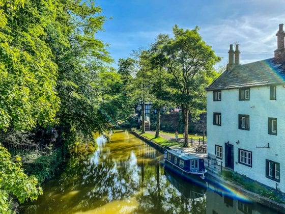 This is the place: Worsley is a little piece of Cheshire in Salford I Love Manchester