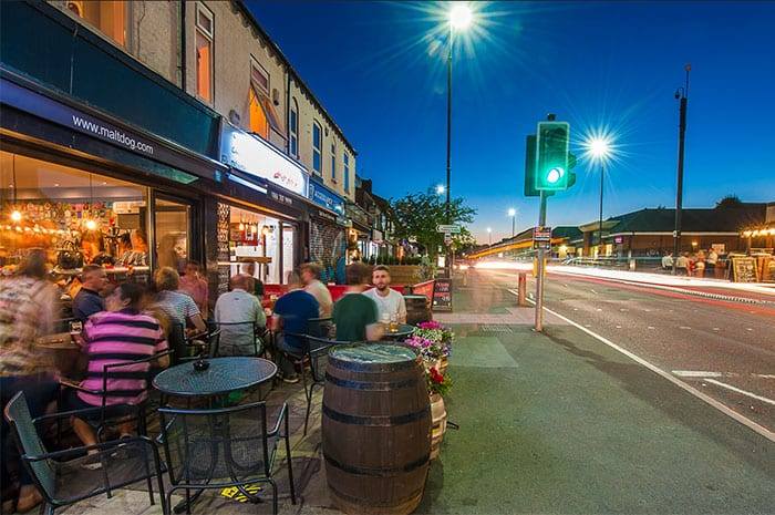 This is the place: Monton has a colourful community vibe and café bar buzz I Love Manchester