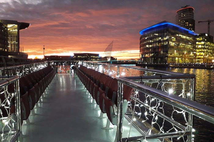 Enjoy a different way to party on a Manchester river cruise I Love Manchester