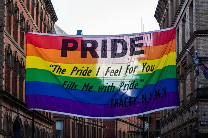 Manchester Pride asks LGBTQ+ people to march for peace in virtual parade I Love Manchester