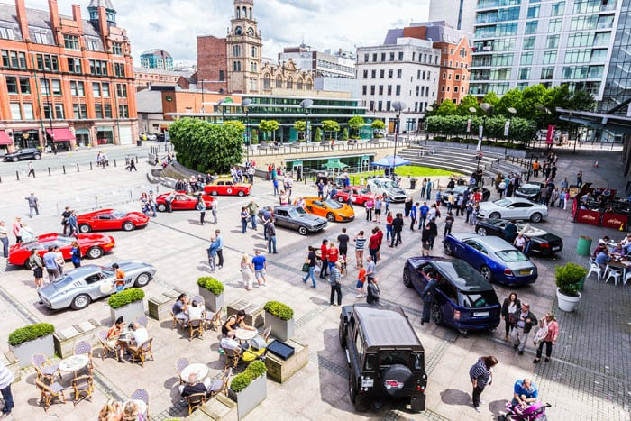 James Martin's Supercar Sunday brings classic cars and supercharged Sunday roasts to Great Northern I Love Manchester