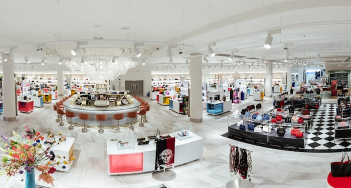 Flowers, fizz and piercings - Selfridges Trafford unveil completed Accessories Hall with quirky additions I Love Manchester