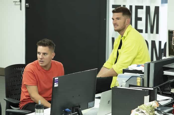 Adam Frisby and Jamie Corbett