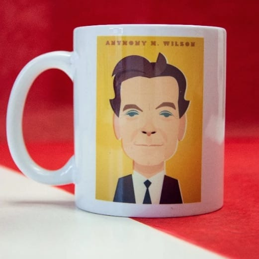 Anthony H Wilson Mug Designed by Stanley Chow I Love Manchester