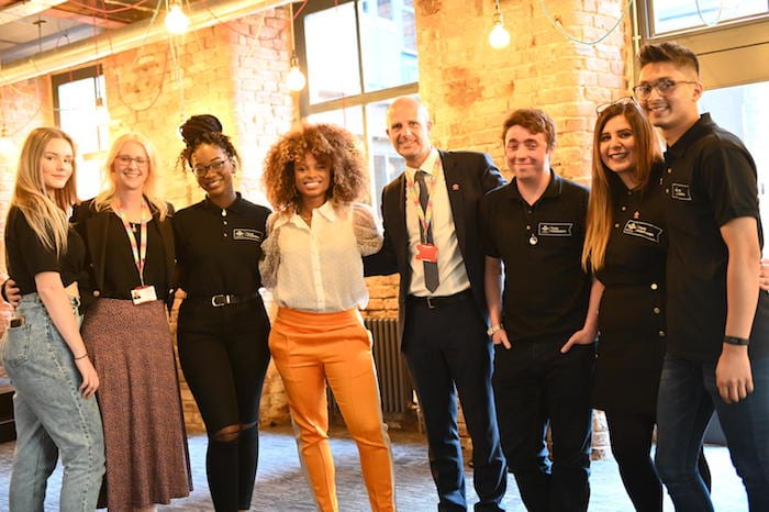 Leading youth charity The Prince's Trust has opened a new centre in Manchester