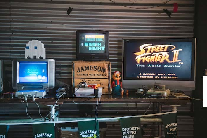 Watch the Rugby World Cup in this Manchester loft with retro games and whiskey I Love Manchester