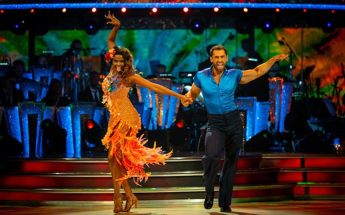 Strictly fans tip Kelvin Fletcher for the finals after dazzling dance show start I Love Manchester