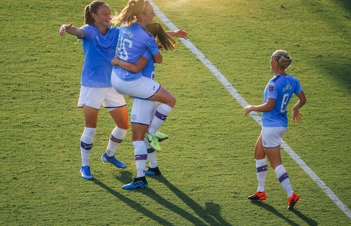 City's women score historic win in first ever women's Manchester derby I Love Manchester