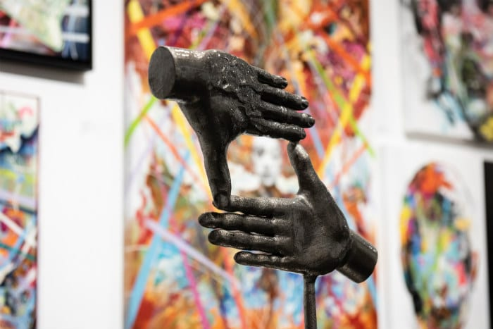 Manchester's art scene is thriving - see what it's all about at Manchester Art Fair I Love Manchester