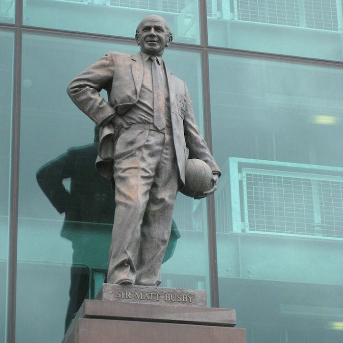 Legendary Man United manager Sir Matt Busby celebrated in new film from makers of Class of 92 I Love Manchester
