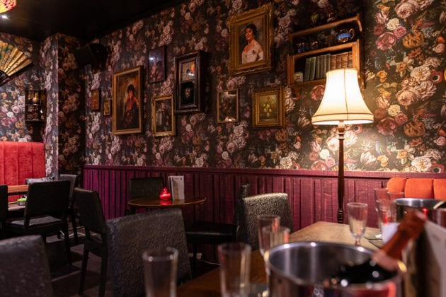 Gypsy Parlour at Peaky Blinders bar