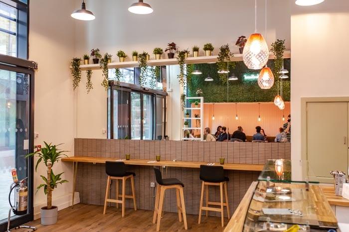 Inside Vertigo - the new home of plant-based dining on First Street I Love Manchester