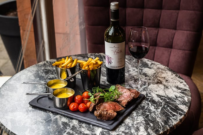 Brasserie Abode Manchester is offering up an unmissable deal of chateaubriand and a bottle of red for just £49 I Love Manchester
